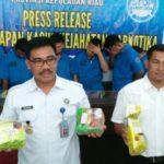 BNN Kepri Berhasil Ungkap 3 Kasus Peredaran Gelap Narkotika