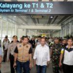 Perketat Keamanan Bandara, Menhub Lakukan Pengecekkan Di Bandara Soekarno Hatta