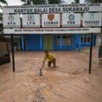 Banjir Bandang Melanda Desa di Marga Punduh Pesawaran