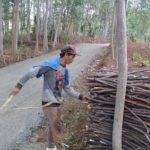 Penebas Kayu Bakar Durenombo Batang, Mulai Sejahtera Berkat Akses TMMD