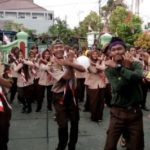 HUT ke-10, Saka Wira Kartika Binaan Koramil 01/Cilacap Gelar Bhakti Sosial