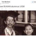 """""""Jokowi Bukan Alumni UGM? """""""