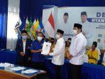 Deklarasi Pasangan Aji-Gagarin, Ronny Wahyono Nampak Tegar