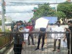 Aksi di Polda Sumut, MAPEL Desak Direktur PT ANJ Agri Binanga Ditangkap