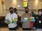 Polisi Gagalkan Penyelundupan 6 kg Sabu ke Jakarta