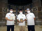 Milad ke-43 Masjid Istiqlal, Yayasan Muslim Sinar Mas Wakafkan Ribuan Mushaf Alquran
