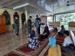 Masjid Seskoad Salurkan Zakat Kepada yang Berhak