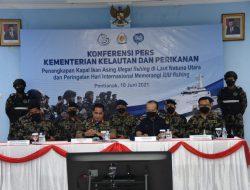 Operasi Peringatan Hari Internasional Memerangi IUU Fishing, KKP Tangkap 19 Kapal Ilegal