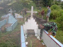 Kerja Bakti Bersihkan Makam Dukuh Tangga Batu, Pengamalan Sila Persatuan Indonesia, TMMD Tapsel