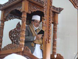 Bupati beserta Keluarga Laksanakan Sholat Idul Adha 1442 H di Masjid Syaikh Ustman Tungkal