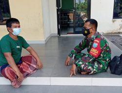 Pak Samsul Berterima Kasih Kepada Satgas TMMD Ke-111 Kodim 1207/Pontianak di Dusun Maju Jaya