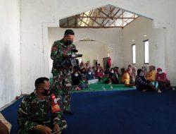 Tim Jurnalis Pendim 1207/Pontianak Turun Langsung Mempublis Kegiatan TMMD Ke-111 di Dusun Maju Jaya