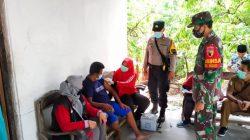 Babinsa Koramil Kalitidu Bojonegoro Laksanakan Pendampingan Vaksinasi Bagi Disabilitas