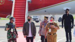 Pangdam II/Sriwijaya Sambut Kunjungan Kerja Presiden Jokowi di Lampung