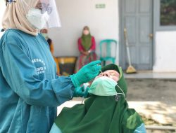Nakes Puskesmas Pekurun Ikuti Booster Vaksin Moderna