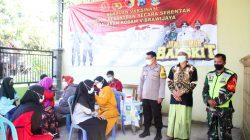 Terus Bergerak, Kodim Bojonegoro Laksanakan Serbuan Vaksinasi bagi Santri Pondok Pesantren