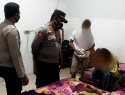 Razia Malam Minggu, Polsek Toili Amankan Sepasang Muda-mudi di Kamar Penginapan