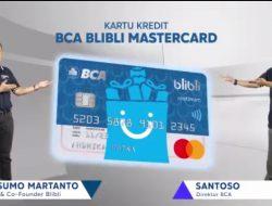Kartu Kredit BCA Blibli Mastercard Resmi Diluncurkan